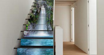 ภาพมงคลติดบ้าน ลายน้ำตก ธรรมชาติ ตกต่งภายบ้านให้น่าอยู่ แบบที่ 3-EX